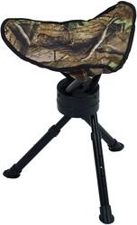 Ameristep - Ameristep Katlanır 360° Dönebilen Tripod Tabure Orman Kamuflaj