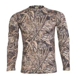 ARCHERCAMP - Archercamp Saz Desen Uzun Kol Sıfır Yaka Erkek T-Shirt