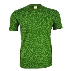 ARCHERCAMP - Archercamp Yeşil Kısa V Yaka Erkek T-Shirt