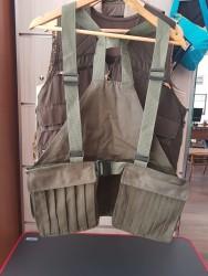 YERLİ ÜRETİM - Askılı Navigator Avcı Yeleği Haki Yeşil