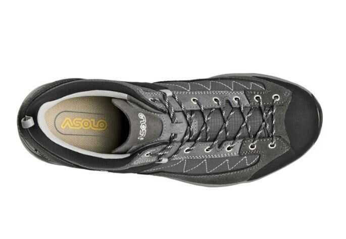 Asolo Pipe Erkek Su Geçirmez Günlük Yürüyüş Ayakkabısı Graphite