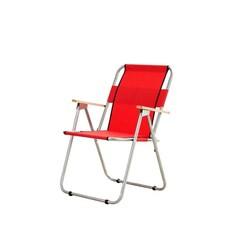 Bayeren - Bayeren Katlanır Kamp Piknik Sandalyesi Ahşap Kollu