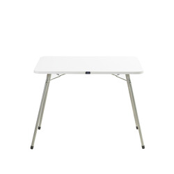 Bayeren - Bayeren Katlanır Piknik Masası Beyaz 60x80
