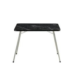 Bayeren - Bayeren Katlanır Piknik Masası Granit Siyah 60x80