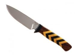 BUCK - Buck 197 Yellow Jacket Le Demir Ağacı Saplı Koleksiyon Bıçak