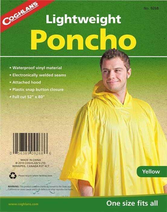 Coghlan's Panço Yağmurluk Sarı