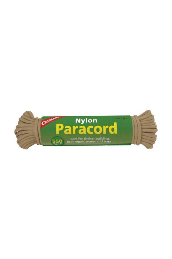 CoghlanS Paracord İpi Kahverengi 15,25Mt