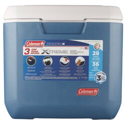 Coleman - Coleman Xtreme Cooler 28Qt Emea Kamp Buzluk 26Lt Gri/Mavi