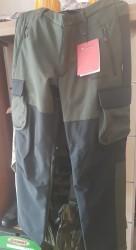 CRESTA - Cresta 1501 Haki Siyah Outdoor Kargo Erkek Pantolon