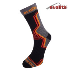 EVOLITE - Evolite Over Thermolite Sock Çorap 43-46 Grey-Orange