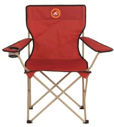 FAMEDALL - Famedall Baskırı Klasik Kamp Sandalyesi Kırmızı