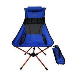 FAMEDALL - Famedall Carry Kamp Sandalyesi Bisikletçiler İçin Mavi