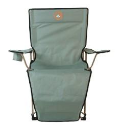 FAMEDALL - Famedall Lencos Ayak Uzatmalı Kamp Sandalyesi Yeşil