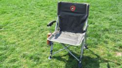Famedall Marik Katlanır Kamp Sandalyesi Kırmızı - Thumbnail