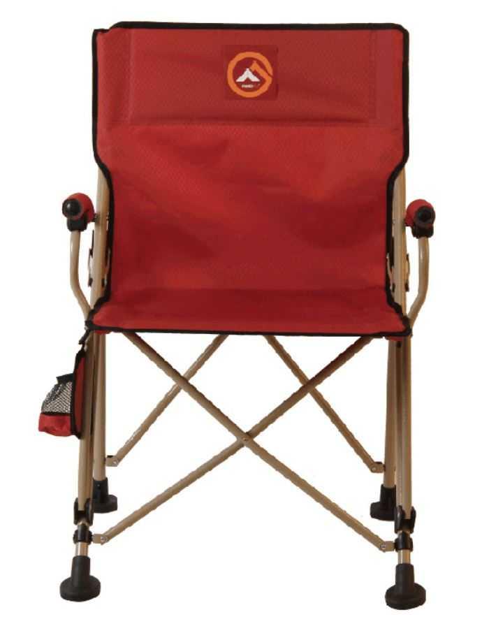 Famedall Marik Katlanır Kamp Sandalyesi Kırmızı