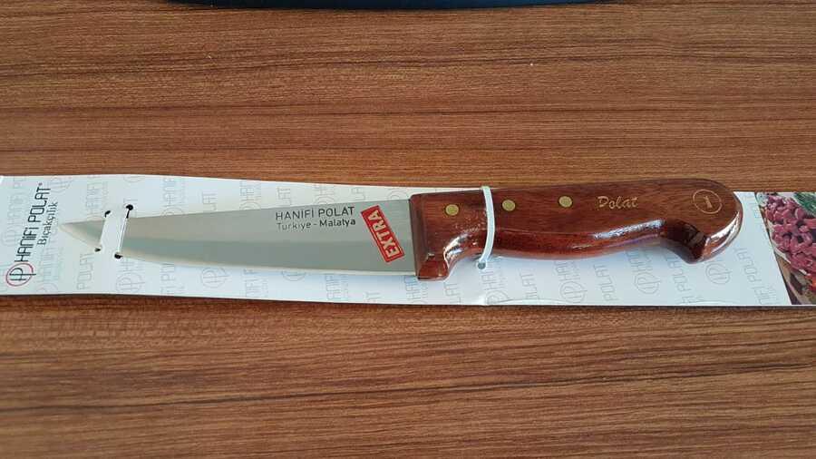 Hanifi Polat Kurban Bıçağı Ahşap Saplı