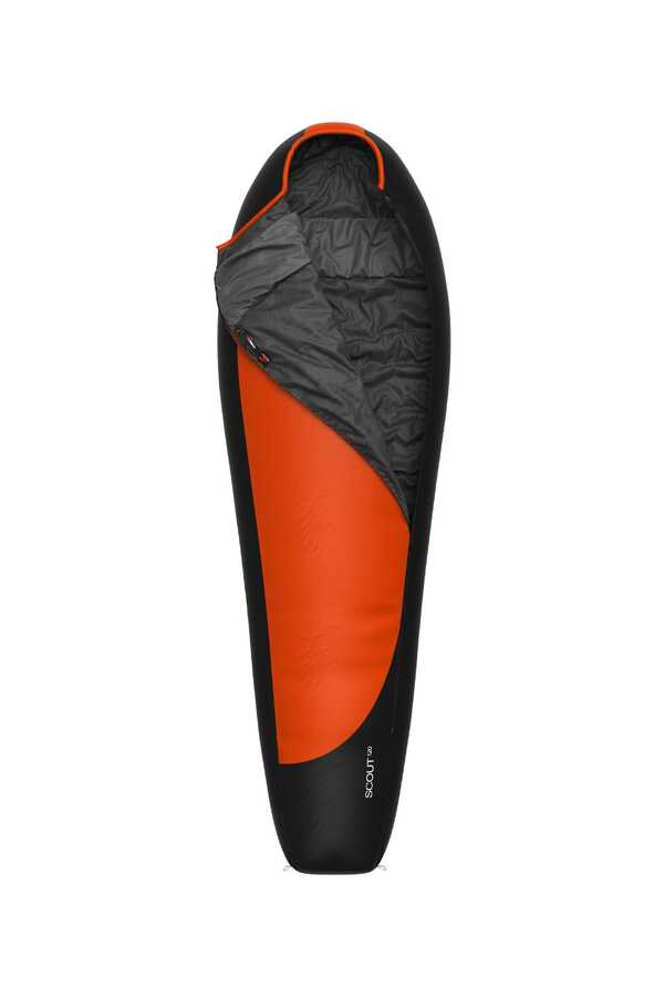 HannaH Scout 120 Ultralight Comfort Uyku Tulumu Flame Antrasit