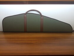 HUNTERLAND - Hunterland Sert Dürbünlü Pcp Kılıf Haki Çizgili 113cm Deri Saplı