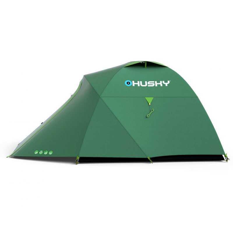 Husky Bonelli 3 Kisilik Çadır Yeşil