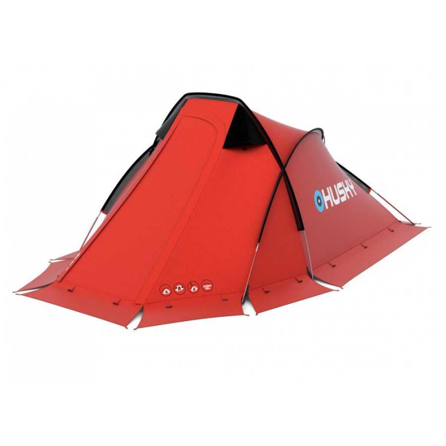 Husky Flame Kırmızı 2 Kisilik Extreme Çadır