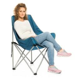 SAKATA - Katlanır Kamp Sandalyesi Redcliffs Mavi