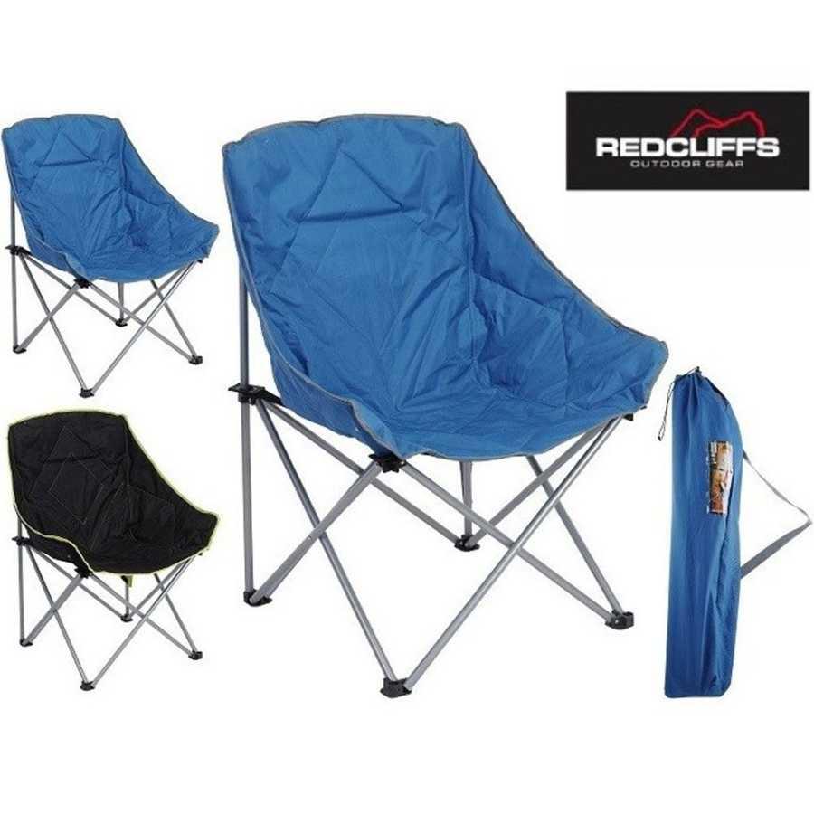 Katlanır Kamp Sandalyesi Redcliffs Siyah