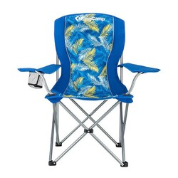 KINGCAMP - KingCamp Katlanır Kamp Sandalyesi Mavi Palm