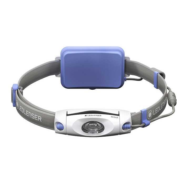 Led Lenser Koşu Feneri Neo6R Mavi