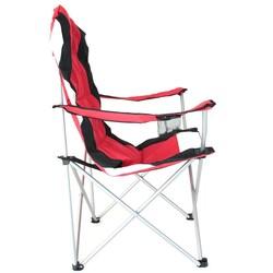 Madfox Katlanır Kamp Sandalyesi Kırmızı - Thumbnail