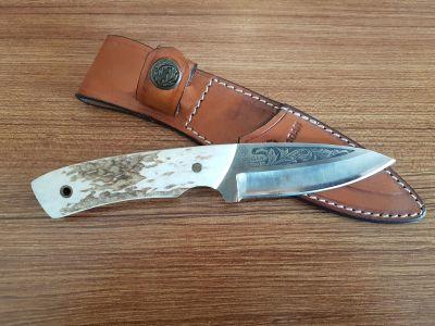 MOGAN - Mogan Av Bıçağı Geyik Boynuzu Saplı
