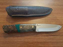 MOGAN - Mogan Avcı Bıçağı Akça Ağaç Saplı N695 Çelik