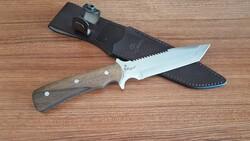 MOGAN - Mogan Avcı Bıçağı Ceviz Saplı 440c Çelik