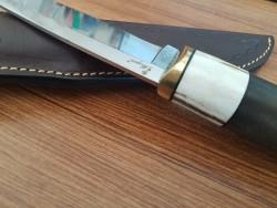 MOGAN - Mogan Avcı Bıçağı Geyik Boynuzu ve Ceviz Saplı