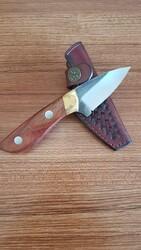 MOGAN - Mogan Avcı Bıçağı Gül Saplı N690 Çelik