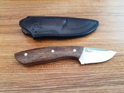 MOGAN - Mogan Avcı Bıçağı Küçük Gül Saplı N690 Çelik
