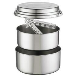 MSR - MSR Alpine 2 Pot Set Kamp Yemek Tencere Seti Gümüş