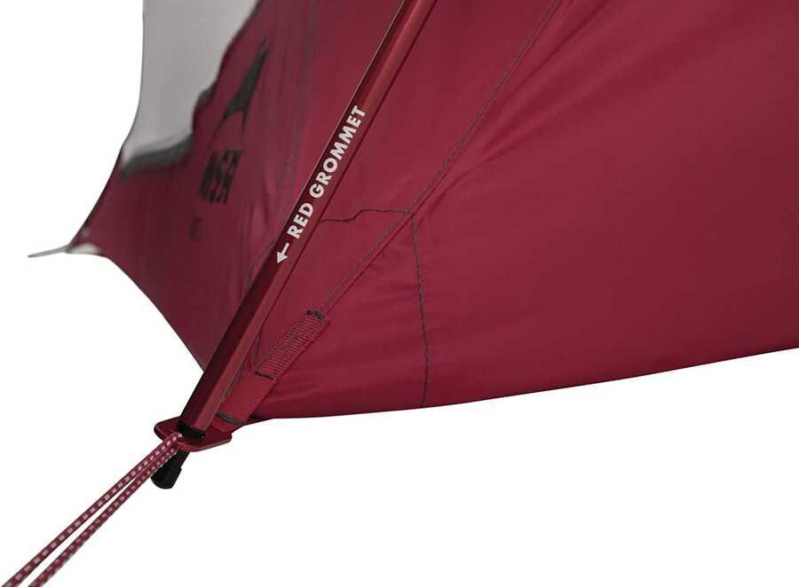 Msr Elixir 2 Tent V2 Kamp Çadırı Kırmızı 2 Kişilik