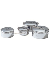 MSR StowAway Pot Kamp Yemek Tenceresi Gümüş 1,6Lt - Thumbnail