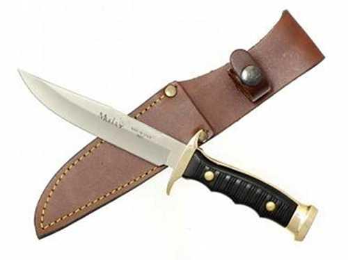 Muela Mountain Serisi Düz Kenar Pirinç Başlıklı Bıçak