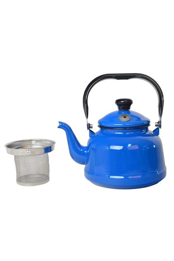 Nurgaz Emaye Çaydanlık Süzgeçli