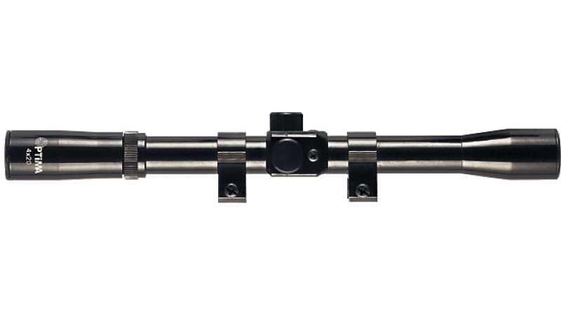 Optima 4X20 Rifle Scope Tüfek Dürbünü