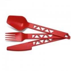 PRIMUS - Primus Çatal Kaşık Bıçak Trailcuttery Kırmızı