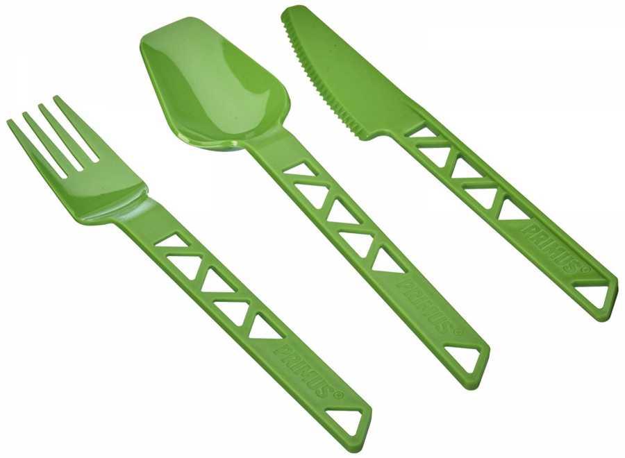 Primus Çatal Kaşık Bıçak Trailcuttery Yeşil
