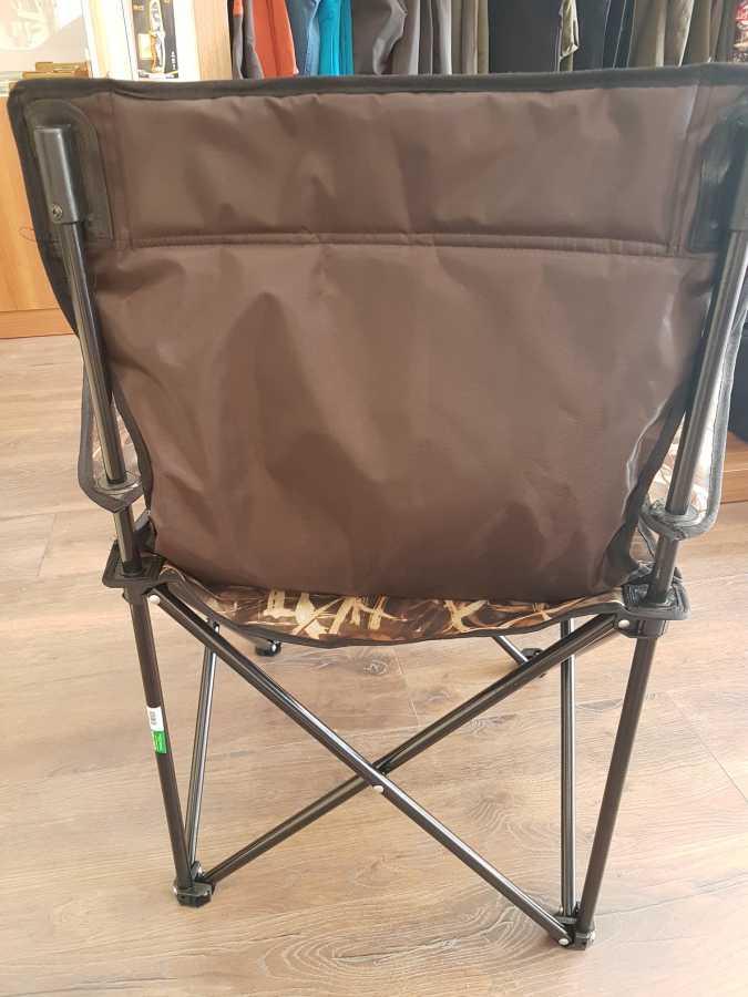 Katlanır Kamp Sandalyesi Kolçaklı Saz Desenli Süper Dayanıklı
