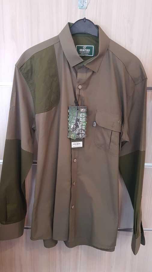 Spayko Avcı Gömlek 601-3 Yeşil