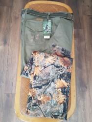 SPAYKO - Spayko 633-2 Keklik Avcı Pantolonu Likralı Orman