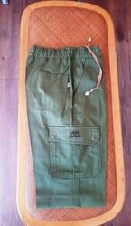 SPAYKO - Spayko Avcı Pantolonu Bel Lastikli Yazlık Yeşil