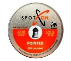 SPOT-ON - Spot-On Pointed Havalı Saçma 5.5Mm (200) 21,61Grain