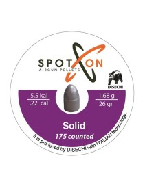 SPOT-ON - Spot-On Solid Havalı Saçma 5.5Mm (175) 25,93Grain