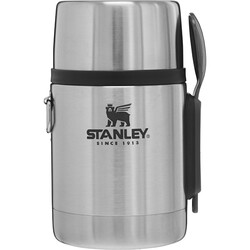 STANLEY - Stanley All In One Food Jar Yemek Termosu 0,53Lt Metalik
